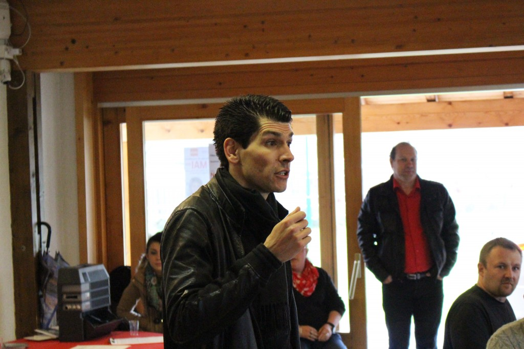 Nicolas Rochat Fernandez a également fait un discours.