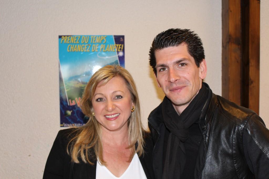 Nuria Gorrite et Nicolas Rochat Fernandez