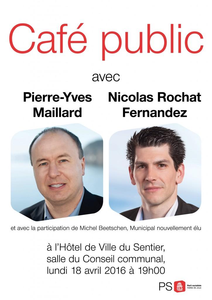 Café PYM affiche, 12.04.16