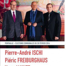 Les socialistes verts et sympathisants lancent trois candidats à la Municipalité de Penthalaz